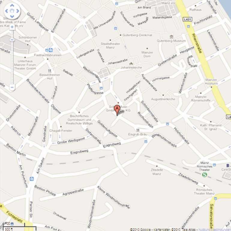 Standort der Geschäftsstelle