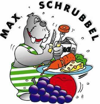 Bild von Max Schrubbel beim Essen