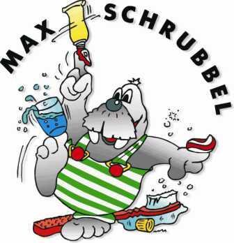 Bild von Max Schrubbel mit Wasserglas